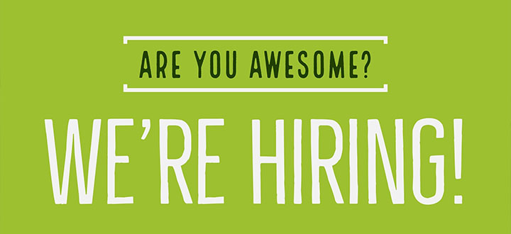 Check out our current openings
