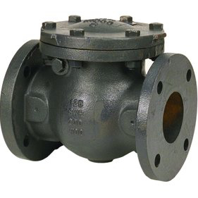 Flanged Iron Body